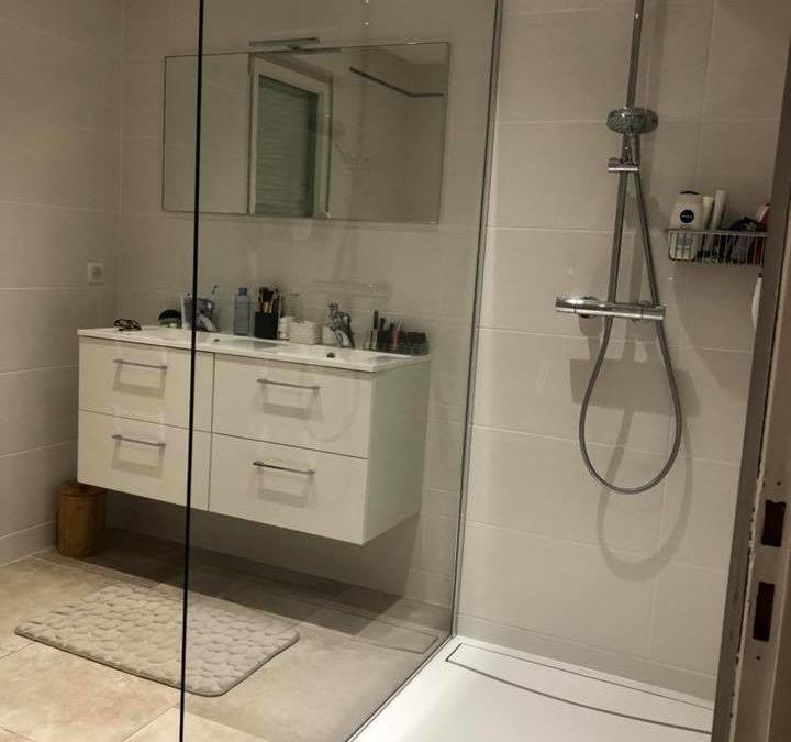 Salle de bain à Vandoeuvre