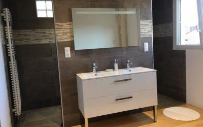 Création de salle de bain à Vandoeuvre